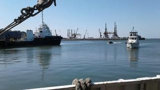 Экологический мониторинг дноуглубительных работ в порту г. Махачкала