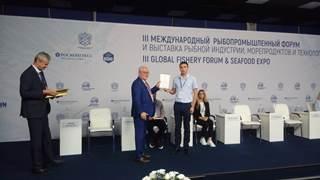 КаспНИРХ принял участие в III Международном рыбопромышленном форуме и Выставке рыбной индустрии, морепродуктов и технологий