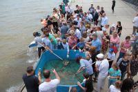 КаспНИРХ принял участие в эколого-просветительской акции  «Реки впадают в моря»