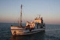 НИС «Гидробиолог» выходит в Северный Каспий